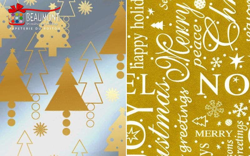 BEAUMONT GROUPE Papel de regalo Paquetes regalo Navidad y Fiestas  |