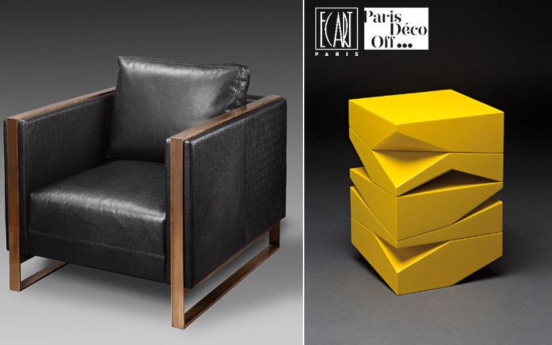 Ecart International Mesa de sofá Mesas de centro Mesas & diverso  |