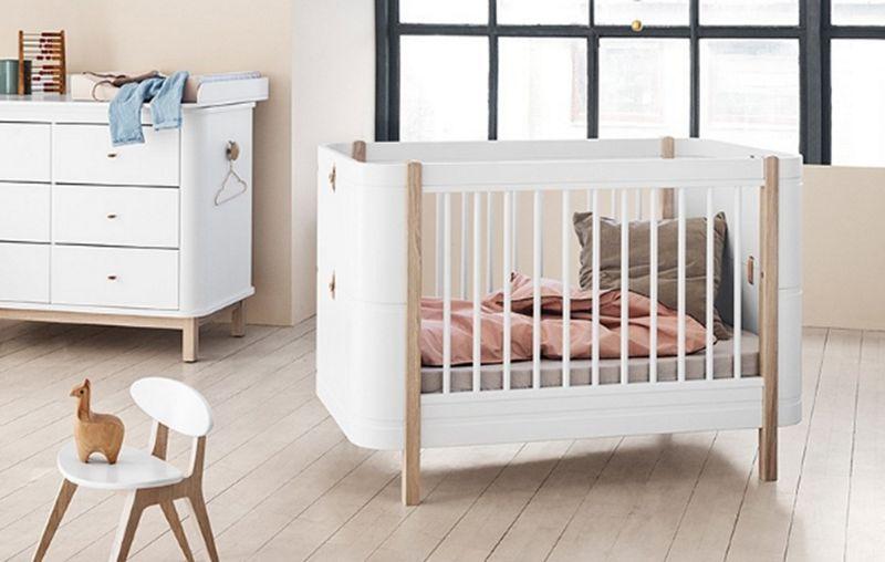 Oliver Furniture Cuna Dormitorio infantil El mundo del niño  |