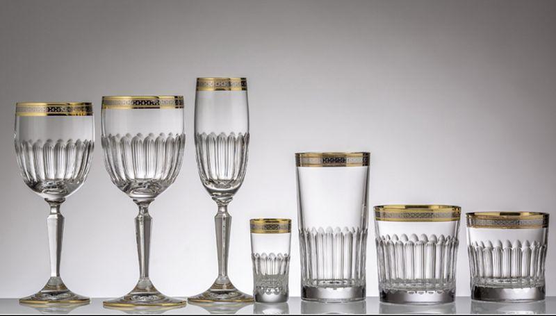 CRISTALLERIE DE MONTBRONN Servicio de vasos Juegos de cristal (copas & vasos) Cristalería  |