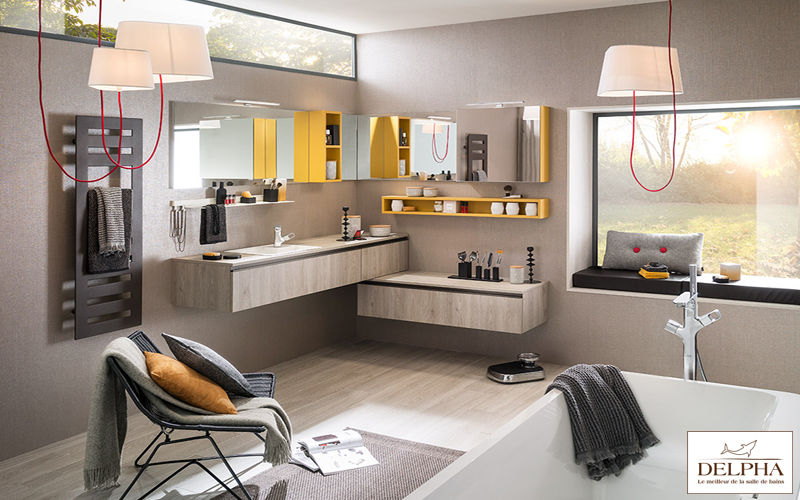 Delpha Mueble de cuarto de baño Muebles de baño Baño Sanitarios Baño | Design Contemporáneo