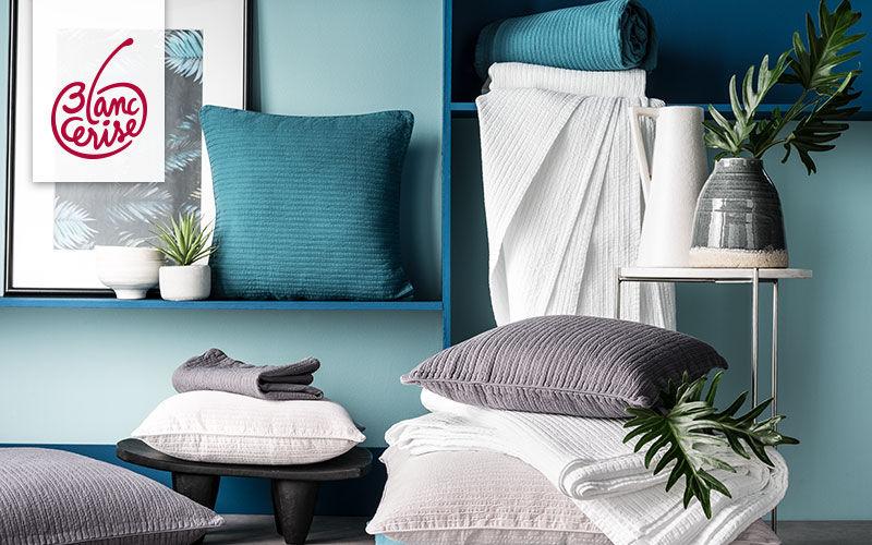 BLANC CERISE Cojín cuadrado Cojines, almohadas & fundas de almohada Ropa de Casa  |