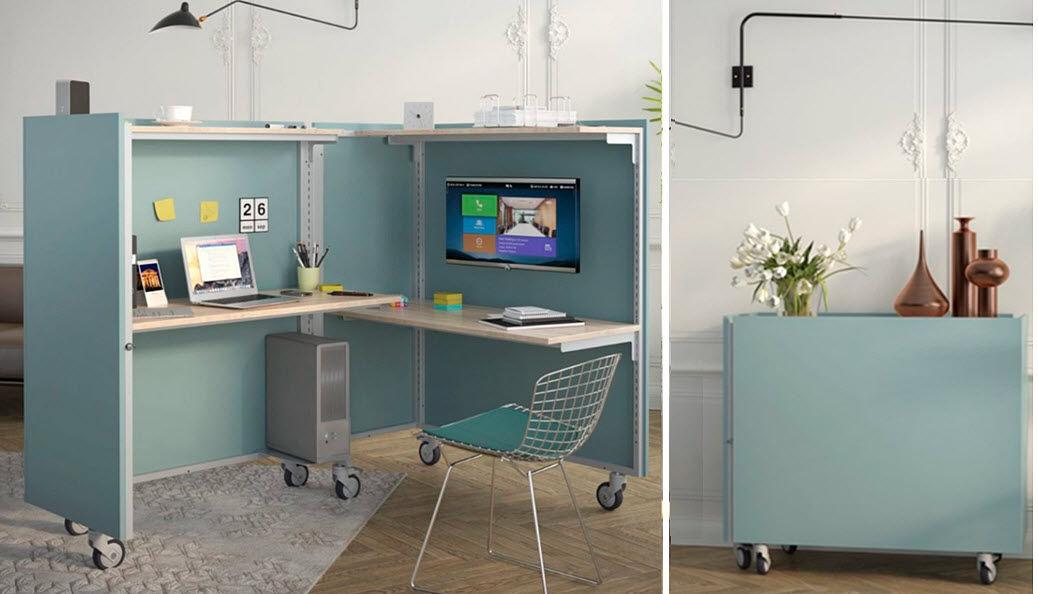 CLICK & SPACE Mesa de despacho en ángulo Mesas y escritorios Despacho  |