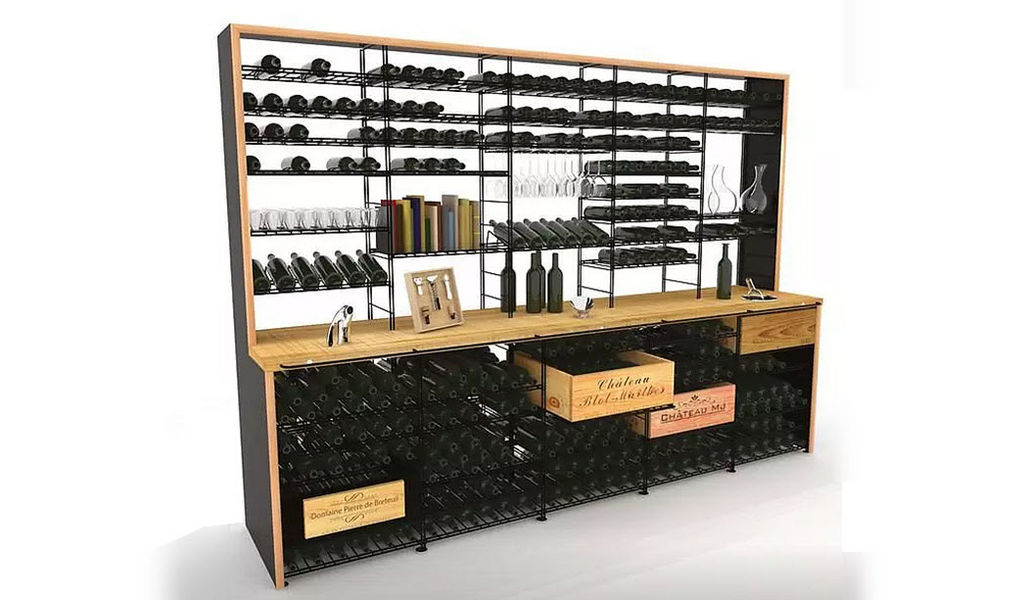VINCASA Casillero de vino Bodega Equipo para la casa  |