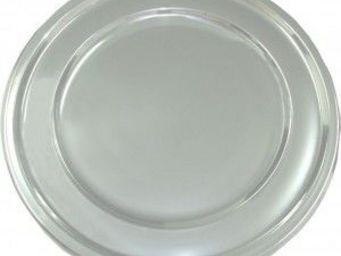 Adiserve - sous assiette ronde argent 30,5cm par 4 couleurs a - Vajilla Desechable Navidad Y Fiestas