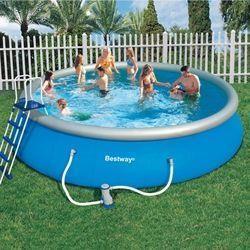 Bestway - piscine fast set 549 x122 cm - Piscina Autosustentadora
