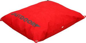 ZOLUX - coussin extérieur déhoussable rouge 90x70x12cm - Cama Para Perro