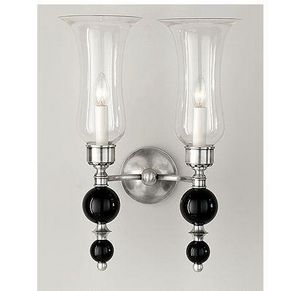 Charles Edwards - glass double ball - Aplique