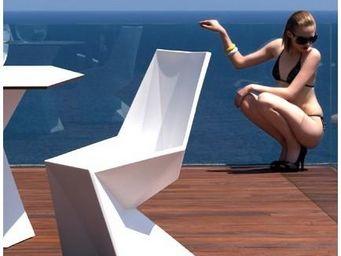 VONDOM - chaise design vertex - Silla De Jardín