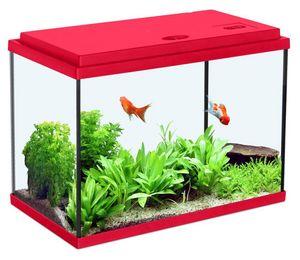 ZOLUX - aquarium enfant rouge cerise 12.5l - Acuario