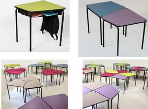 L'INTEGRALE D'AGENCEMENT - table scolaire 1289686 - Pupitre