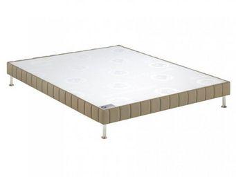 Bultex - bultex sommier tapissier confort ferme daim 120*2 - Canapé Con Muelles