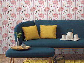 PAPERMINT - flamingo pink - Papel Pintado