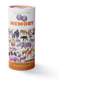 BERTOY - 36 animal memory wild animals - Juegos Educativos
