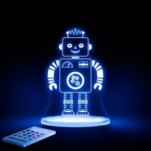 ALOKA SLEEPY LIGHTS - robot - Lámpara Para Dormir Para Niño