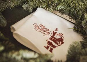 Libeco Home - noël / merry christmas - Servilleta De Mesa