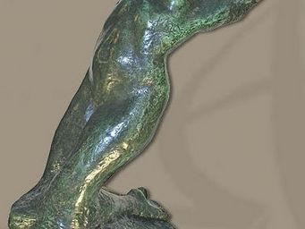ALIÉNOR ANTIQUITÉS - nu féminin en bronze - Escultura