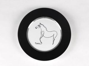 MARC DE LADOUCETTE PARIS - picasso cheval 1920 - Plato De Presentación