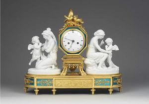F P FINE ART - clock - Reloj De Apoyo