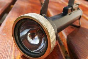 La Timonerie Antiquités marine -  - Lámpara Antorcha