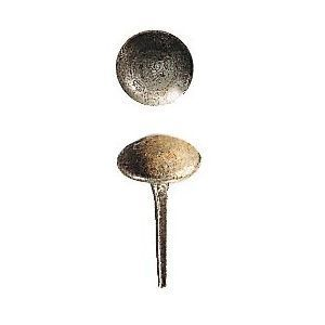 FERRURES ET PATINES - clou a tete ronde diametre 25mm - Clavo