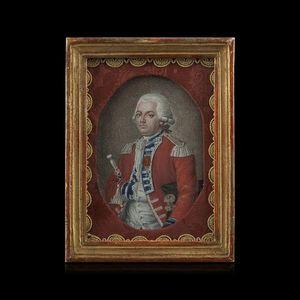 Expertissim - miniature du comte louis-auguste-philippe d'affry - Retrato Miniatura