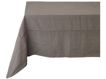 Athezza Home - nappe lin lens taupe 170x170cm - Mantel Rectangular