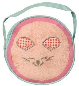 SIRETEX - SENSEI - sac à main pvc 1 serviette brodée mouse room - Bolso Para Niña