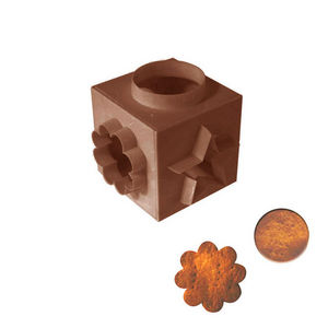 WHITE LABEL - cube emporte pièce formes géométriques - Sacabocados