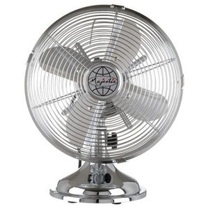 La Chaise Longue - ventilateur majestic chrome - Ventilador