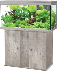 ZOLUX - ensemble aquarium aqua elegance 3 imitation béton  - Acuario