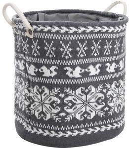 Aubry-Gaspard - corbeille à linge en laine - Cesto Para La Ropa