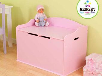 KidKraft - coffre � jouets rose en bois 76x46x54cm - Ba�l Para Juguetes