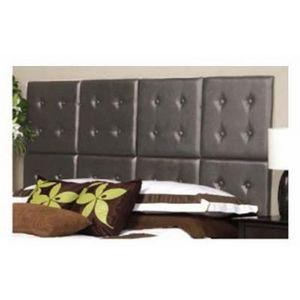 International Design - tête de lit en kit - couleur - gris - Cabecera