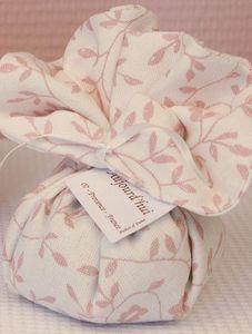 LE BEL AUJOURD'HUI - fleur de lin en lin liberty rose - Bolsa Perfumada