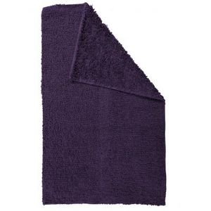 TODAY - tapis salle de bain reversible - couleur - violet - Alfombra De Baño
