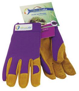 NATUR'ELLE - gants de jardinage natur'elle en laine et caoutch - Guante De Jardín