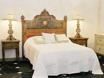 PROVENCE ET FILS - tete de lit choiseul louis xvi couchage 160 couleu - Cabecera