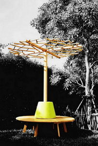 DEESAWAT - tiera circle with nest tree - Banco De Jardín