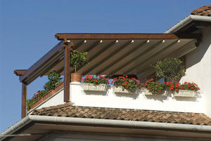 PRATIC - tecnic wood et wood plus - Pérgola