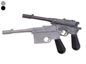 WHITE LABEL - stylo revolver gris crayon insolite original - Bolígrafo