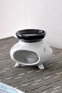 PUCKATOR - brûleur à huile 3 pieds ashi okama - Quemador De Perfume