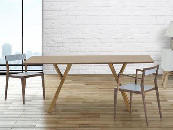 BELIANI - tables - Mesa De Comedor Rectangular