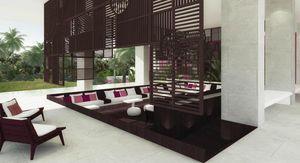 Agence Nuel / Ocre Bleu - taj ponchidery - Idea: Terraza De Hoteles