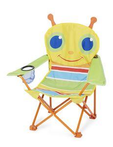 Melissa & Doug - chaise pliante sunny patch chenille - Butaca Para Niño