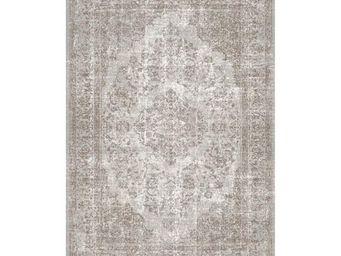 WHITE LABEL - tapis sable 280 x 200 cm - oriental - l 280 x l 20 - Alfombra Contemporánea