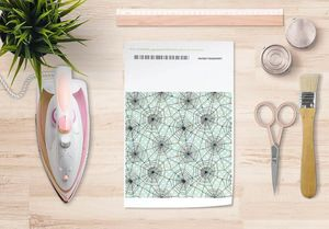 la Magie dans l'Image - papier transfert toile verte - Transfert