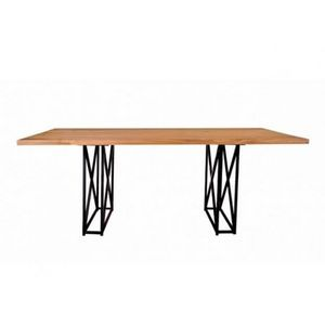 Mathi Design - table de repas métaloft - Mesa De Comedor Rectangular