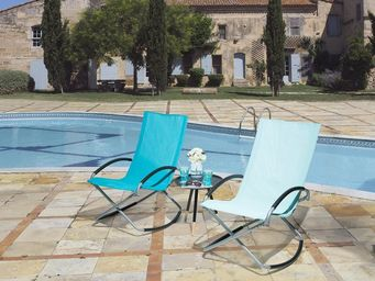 BELIANI - chaise de jardin - Silla De Jardín