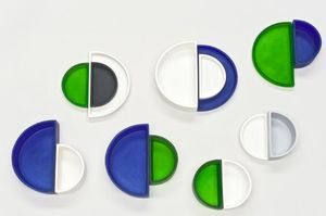 Tina Frey Designs - demi-lune-- - Recipiente Para Pasteles